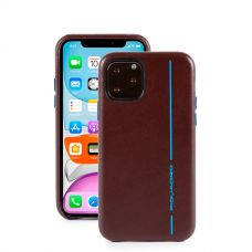 "Чехол  для смартфона iPhone 11 Pro ""5.8"" Piquadro Blue Square коричневый"