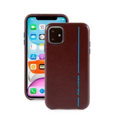 "Чехол для смартфона iPhone 11 Pro Max ""6,5"" Piquadro Blue Square коричневый"