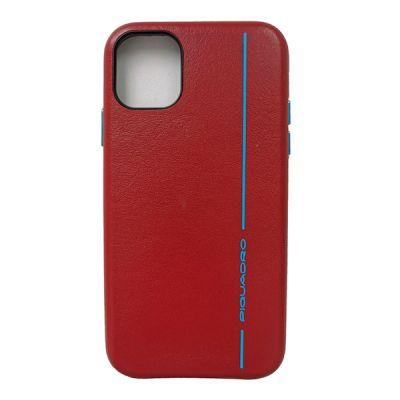"Чехол для смартфона iPhone 11 ""6.1"" Piquadro Blue Square красный"