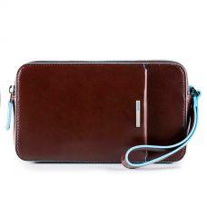 Многофункциональное портмоне Piquadro Blue Square коричневое