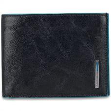 Кошелек мужской Piquadro Blue Square черный