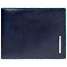 Кошелек мужской Piquadro Blue Square синий