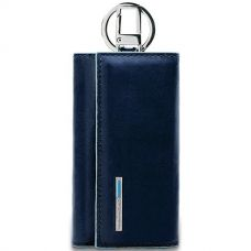Ключница Piquadro Blue Square синяя