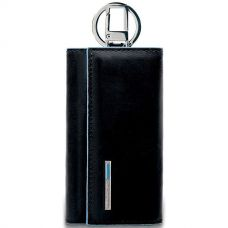Ключница Piquadro Blue Square черная