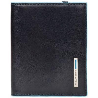 Чехол для кредитных карт Piquadro Blue Square темно-синий