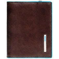 Чехол для кредитных карт Piquadro Blue Square коричневый