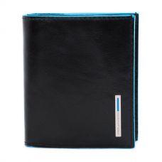 Чехол для кредитных карт Piquadro Blue Square черный