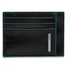 Чехол для кредитных карт Piquadro Blue Square чёрный