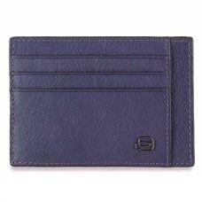 Чехол для кредитных карт Piquadro Black Square Ocean Blue
