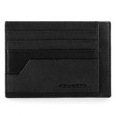 Чехол для кредитных карт Piquadro Kobe чёрный