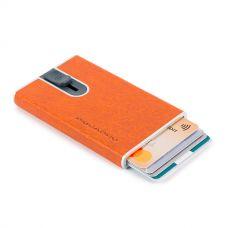 Чехол для кредитных карт Piquadro Blue Square Special оранжевый