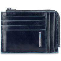 Чехол для кредитных карт Piquadro Blue Square синий