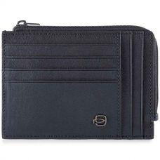 Чехол для кредитных карт Piquadro Black Square синий
