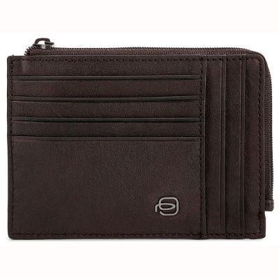 Чехол для кредитных карт Piquadro Black Square темно-коричневый