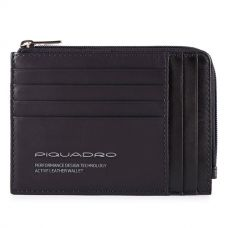 Чехол для кредитных карт Piquadro Downtown черная