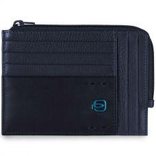 Чехол для кредитных карт Piquadro Pulse синий