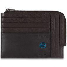 Чехол для кредитных карт Piquadro Pulse коричневый
