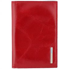 Обложка для паспорта Piquadro Blue Square красная