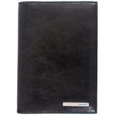 Обложка для документов Piquadro Blue Square черная