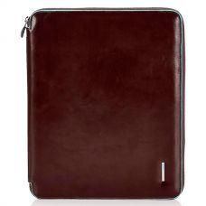 Папка для документов А4 Piquadro Blue Square коричневая