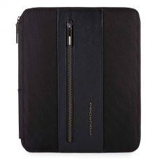Папка для документов и планшета  Piquadro Brief черная