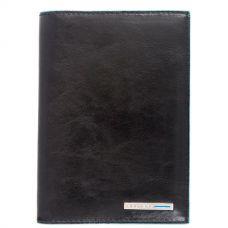 Обложка для документов Piquadro Blue Square чёрная