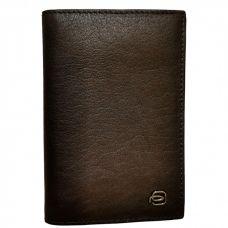Обложка для паспорта Piquadro Black Square коричневая