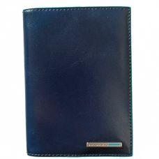 Обложка для документов Piquadro Blue Square синяя