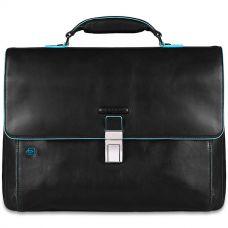 Портфель Piquadro Blue Square черный