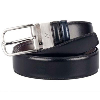 Мужской ремень Piquadro Cinture Coll.11 черный/синий