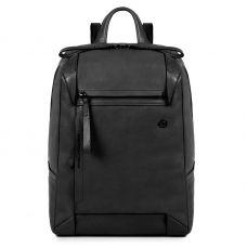 Женский рюкзачок Piquadro PAN для ноутбука черный с отделением для iPad Air / Pro