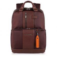 Рюкзак Piquadro Brief темно-коричневый 40,5 см