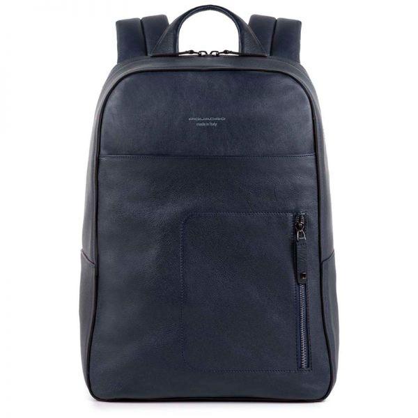 c35445a508f4 Рюкзак для ноутбука Piquadro David синий с отделением для iPad Air/Pro