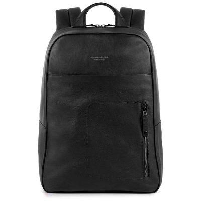 Рюкзак для ноутбука Piquadro David черный с отделением для iPad Air/Pro
