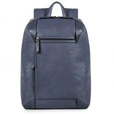 Рюкзак для ноутбука Piquadro PAN серо-голубой с отделением для iPad Air/Pro