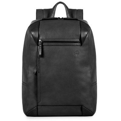 Рюкзак для ноутбука Piquadro PAN черный с отделением для iPad Air/Pro