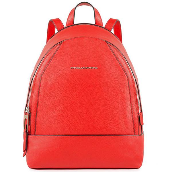 c219f84d1978 Женский рюкзак Piquadro Muse кожаный красный 30 см CA4327MU/R ...