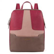 Женский рюкзак Piquadro Hosaka бордовый-серый