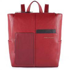 Женский рюкзак Piquadro Echo бордовый