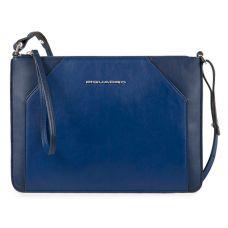 Женская сумка-клатч Piquadro Muse синяя AC4329MUS/BLU