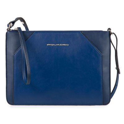 Женская сумка-клатч Piquadro Muse синяя