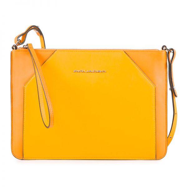 5eff5804d5d4 Женская сумка-клатч Piquadro Muse желтая AC4329MUS/G AC4329MUS/G ...