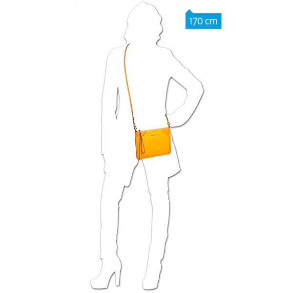 b64335cd2798 Женская сумка-клатч Piquadro Muse желтая AC4329MUS/G AC4329MUS/G ...