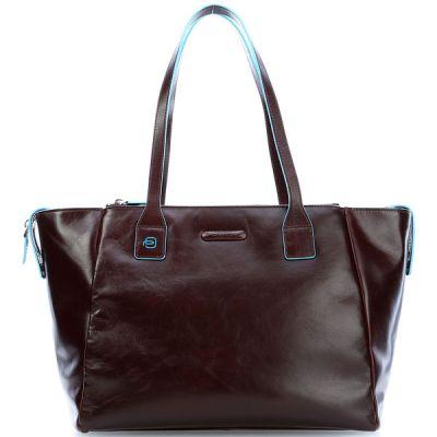 Сумка для покупок женская Piquadro Blue Square коричневая
