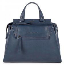 Женская сумка Piquadro PAN серо-голубая с отделением для iPad Air / Pro BD4289S94/AV