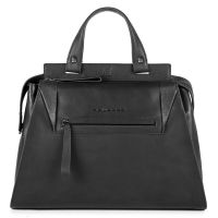 Женская сумка Piquadro PAN черная с отделением для iPad Air / Pro BD4289S94/N