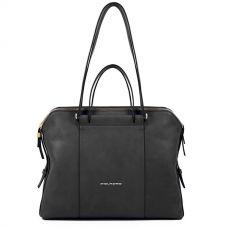 Женская сумка Piquadro Circle чёрная