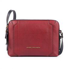Женская сумка Piquadro Circle бордовая