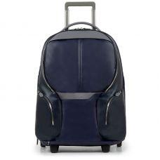 Дорожная сумка-рюкзак Piquadro Coleos синяя 53 см