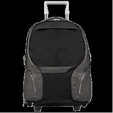 Дорожная сумка-рюкзак Piquadro Coleos черная 53 см